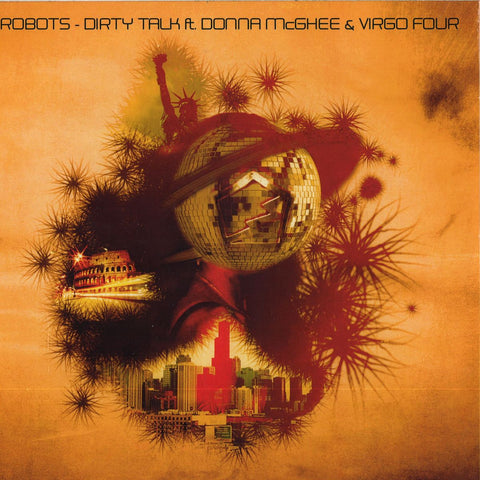 "I-Robots ‎– Dirty Talk 12"" Opilec Music ‎– OPCM12075.1"