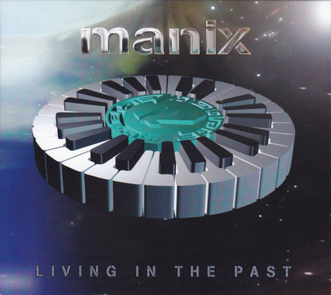 Manix ‎– Living In The Past - Reinforced Records ‎– RIVETCD22DP