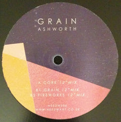 "Ashworth ‎– Cork 12"" Needwant Recordings ‎– NEEDW036"