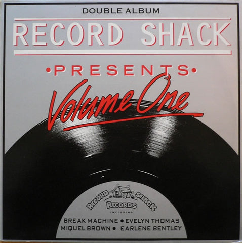 "Various - Record Shack Presents Volume One 2x12"" Record Shack Records RSTV1"