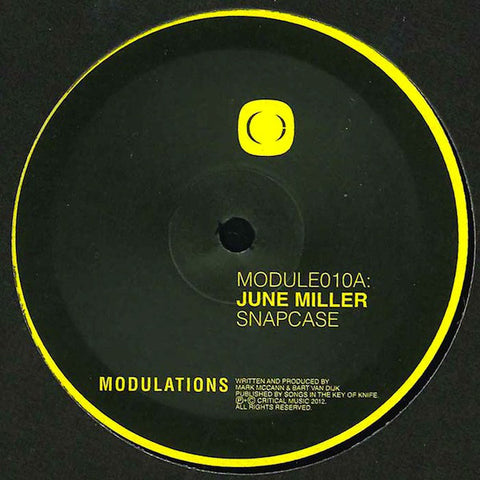 June Miller ‎– Snapcase / Walls Of Jericho - Modulations ‎– MODULE010