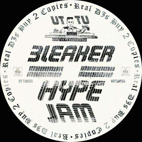 "Bleaker ‎– Hype (Funk) 12"" Unknown To The Unknown ‎– UTTU055"