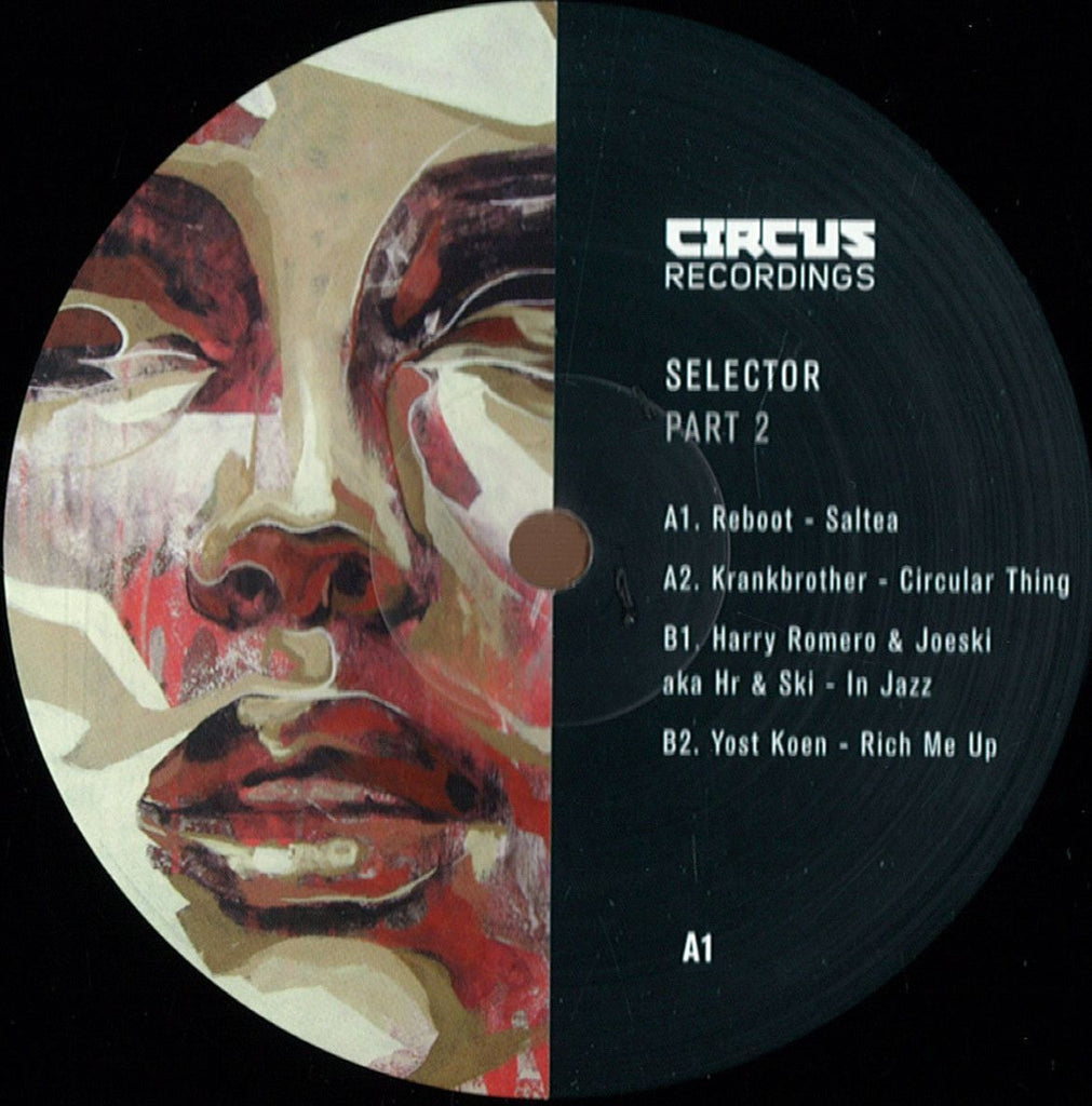 "Various ‎– Selecter Part 2 12"" Circus Recordings ‎– CIRCUS046"
