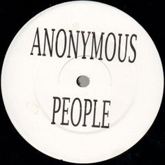 "Anonymous People ‎– Hold On  12"" PROMO LISA 100"