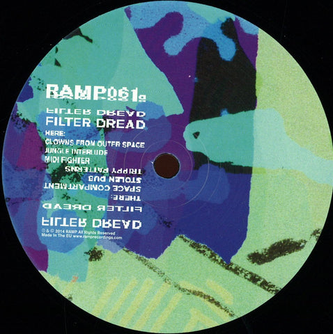 "Filter Dread ‎– MIDI Space 12"" Ramp Recordings ‎– RAMP061"