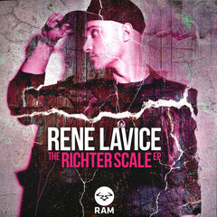 "Rene LaVice ‎– The Richter Scale EP 12"" RAM Records ‎– RAMM230"