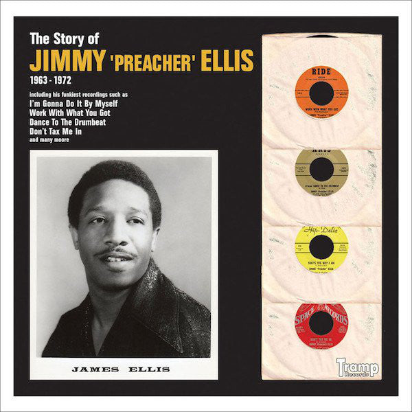 Jimmy Ellis ‎– The Story Of Jimmy Preacher Ellis - Tramp Records ‎– TRLP-9020