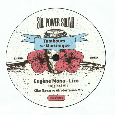 Max Ransay, Eugene Mona ‎– Tambours de Martinique - Sol Power Sound ‎– SOLPS007