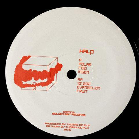 "Halp ‎– Polar EP 12"" Golden Mist Records ‎– GMR002"