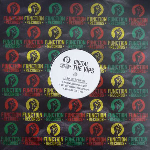 "Digital ‎– The VIPS 12"" Function ‎– FUNC40"