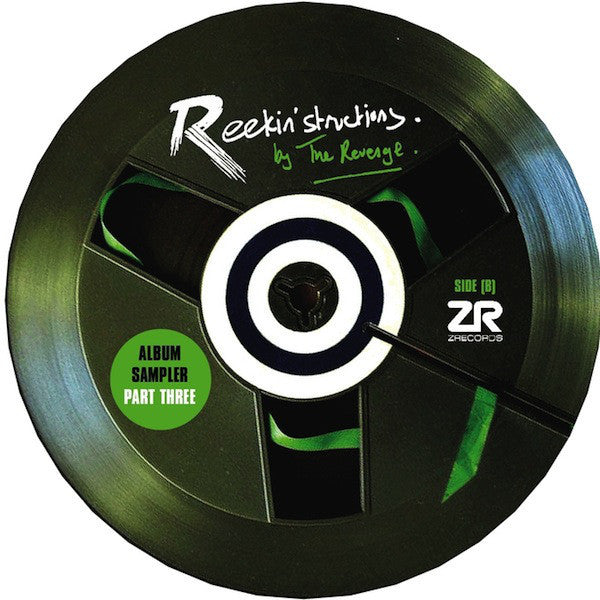 "The Revenge - Reekin'Structions Album Sampler Part Three 12"" Z Records ‎– ZEDD12143"
