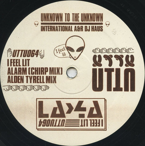 "La-4a ‎– I Feel Lit 12"" Unknown To The Unknown ‎– UTTU064"