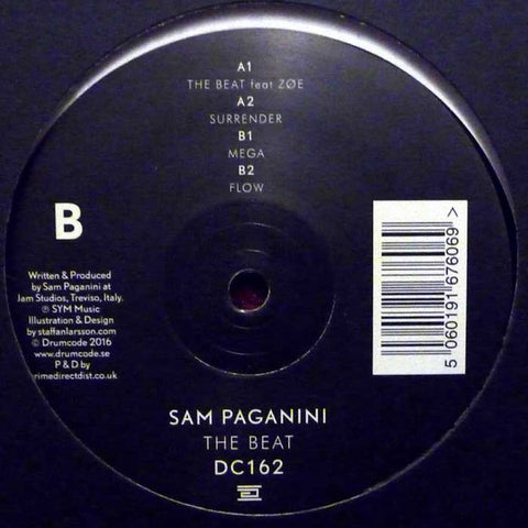 "Sam Paganini ‎– The Beat 12"" Drumcode ‎– DC162"