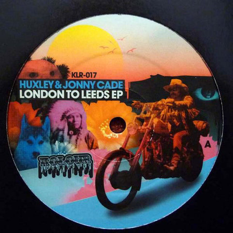 Huxley & Jonny Cade ‎– London To Leeds EP - Kolour Recordings ‎– KLR-017