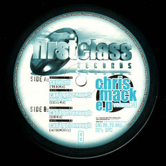 "Chris Mack - Chris Mack EP Volume 3 12"" First Class Records FC 003"
