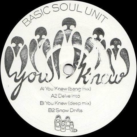 "Basic Soul Unit ‎– You Knew EP 12"" Dolly ‎– DOLLY 21"
