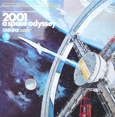 "Various - 2001: A Space Odyssey (Music From The Motion Picture Sound Track)  12"" MGM Records 2315 034"
