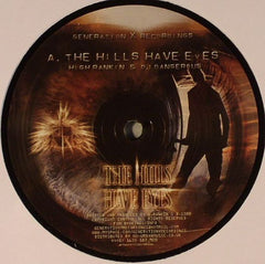 "High Rankin / Eddy Woo - The Hills Have Eyes / Roam 12"" Generation X Recordings GENX002"