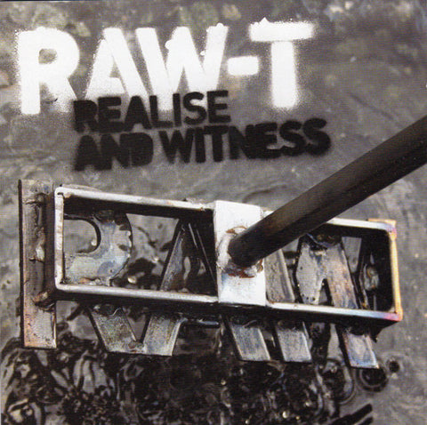 Raw-T ‎– Realise And Witness (CD) F4 Records ‎– R4-M15
