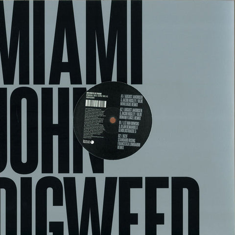 "John Digweed ‎– Live In Miami 4/5 12"" Bedrock Records ‎– BEDMIAVIN4"