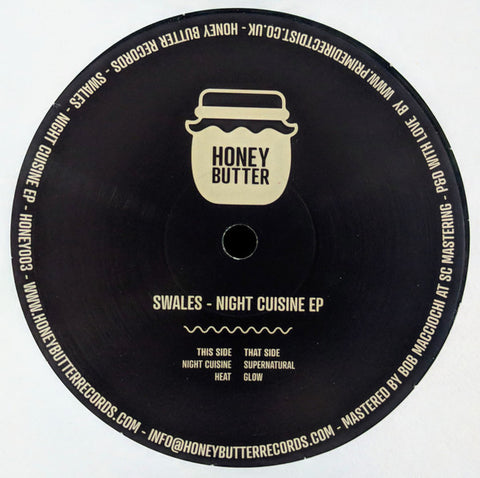Swales - Night Cuisine EP - Honey Butter Records ‎– HONEY003