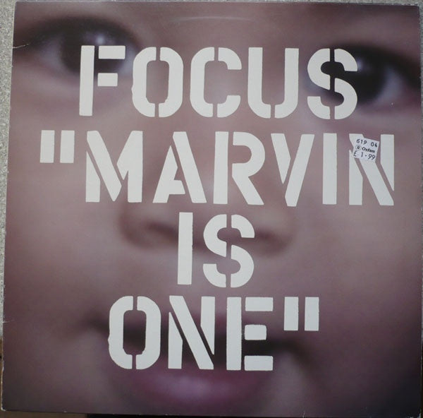 "Focus - Marvin Is One 12"" Versatile Records VER032"