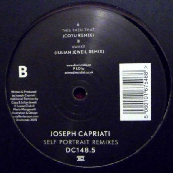 "Joseph Capriati ‎– Self Portrait Remixes 12"" Drumcode ‎– DC148.5"