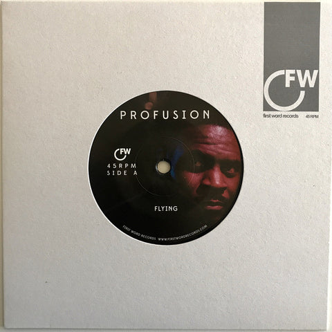 Profusion - Flying / Where Do I Begin - First Word Records ‎– FW157