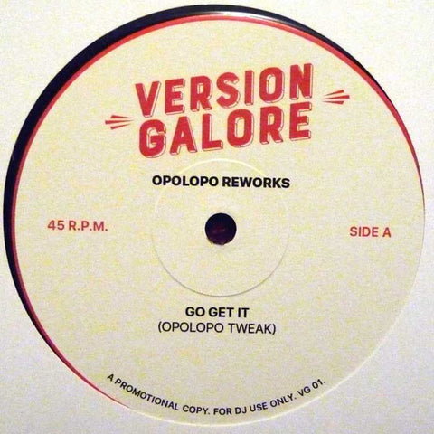 Opolopo ‎– Opolopo Reworks - Version Galore ‎– VG01