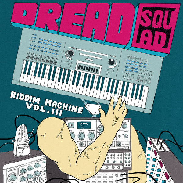 "Dreadsquad & Various ‎– The Riddim Machine Volume 3 12"" Superfly Studio ‎– SF038"