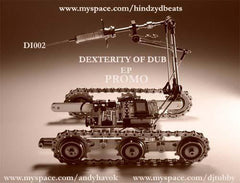 "Various ‎– Dexerity Of Dub EP 12"" Dubinjektion ‎– DI002"