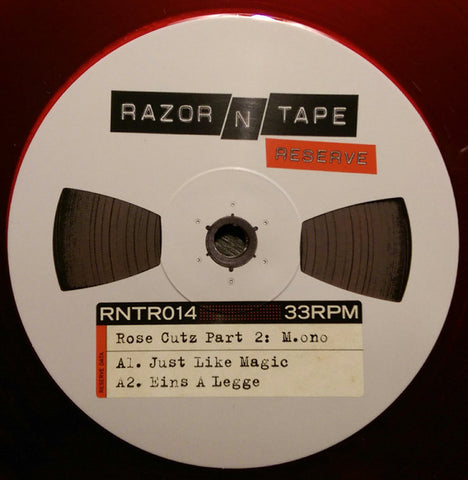 "M.ono & Luvless ‎– Rose Cutz Part 2 12"" Razor N Tape Reserve ‎– RNTR014"
