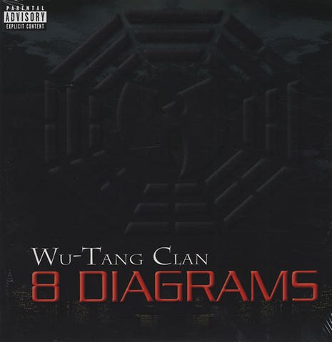 Wu-Tang Clan ‎– 8 Diagrams - Bodog Music ‎– 000102BDM