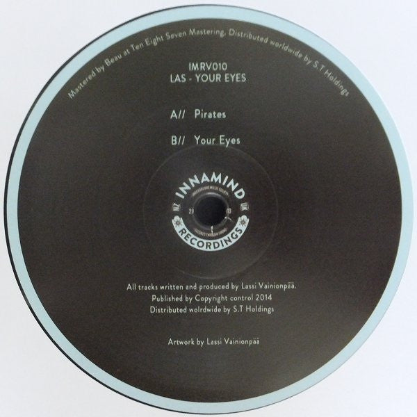 "Las - Your Eyes 2x12"" Innamind Recordings IMRV010"