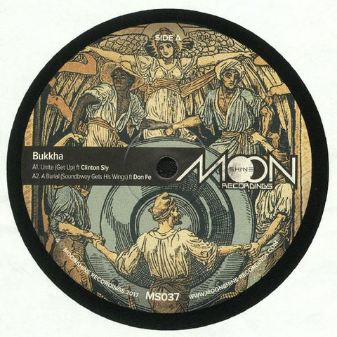 Bukkha ‎– Unity - Moonshine Recordings ‎– MS037