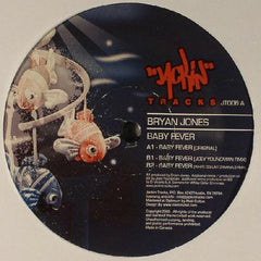 "Bryan Jones ‎– Baby Fever 12"" Jackin Tracks ‎– JT006"