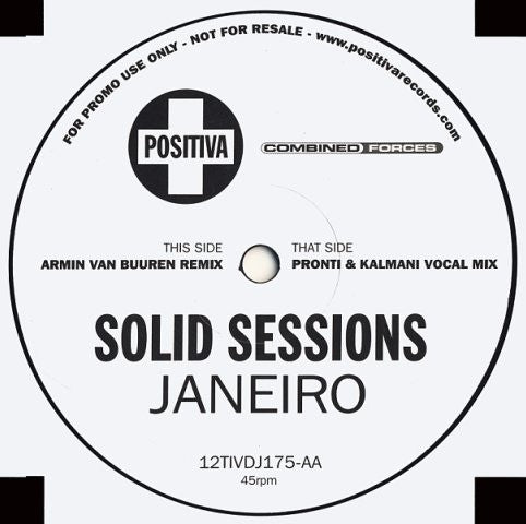 "Solid Sessions - Janeiro 12"" Positiva 12TIVDJ175"