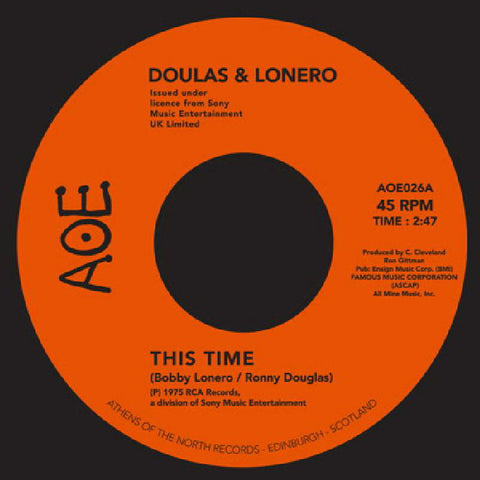 Doulas & Lonero - This Time / Don't Let Yourself Get Carried Away - AOE ‎– AOE026