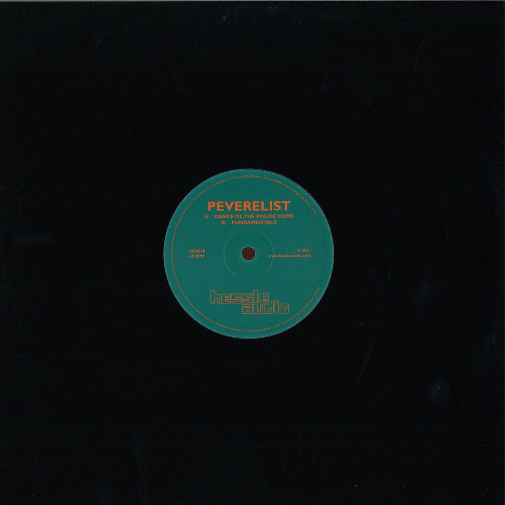 "Peverelist ‎– Dance Til The Police Come 12"" Hessle Audio ‎– HES018"