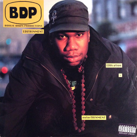 Boogie Down Productions ‎– Edutainment - Jive ‎– HIP 100