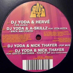 "DJ Yoda - DJ Yoda & Friends EP 12"" Jam City JCITY004"