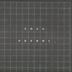 "TMSV ‎– Modification 12"" Perfect Records - PRF001"