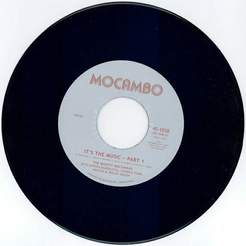The Mighty Mocambos ‎– It's The Music - Mocambo ‎– 45-1038