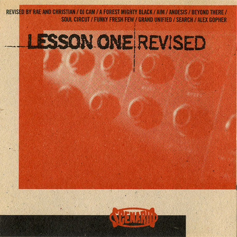 Various ‎– Lesson One Revised - Scenario Records ‎– SCLP003