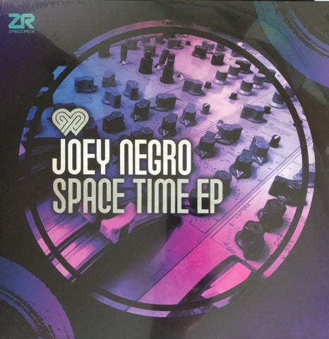 "Joey Negro ‎– Space Time EP 12"" Z Records ‎– ZEDD12249"