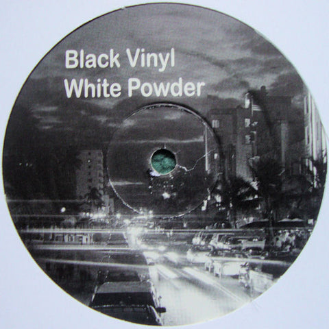 "Various ‎– Black Vinyl White Powder EP 12"" PROMO ‎– BVINYL"