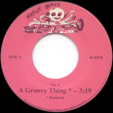 People's Choice – A Groovy Thing - Octopus Breaks ‎– BB Vol 4
