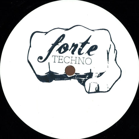 "Various ‎– Basement Genetics EP 12"" Forte Techno ‎– FRT001"