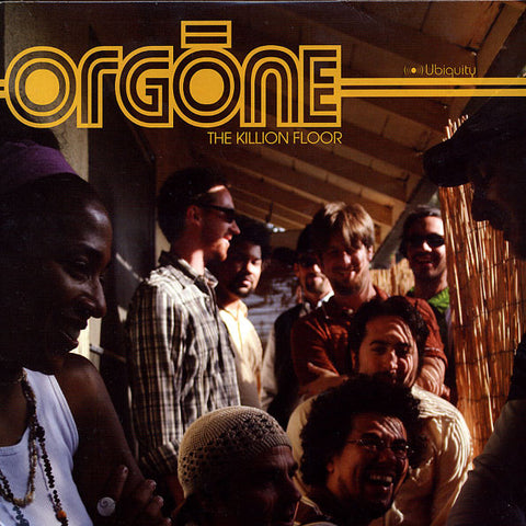 "Orgone ‎– The Killion Floor 2x12"" Ubiquity ‎– URLP 219"