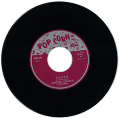 "Barbara English / Earl Grant ‎– Fever 7"" Popcorn - POPC-146"